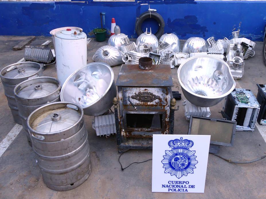 Dos tenidos en Teruel por robo con fuerza