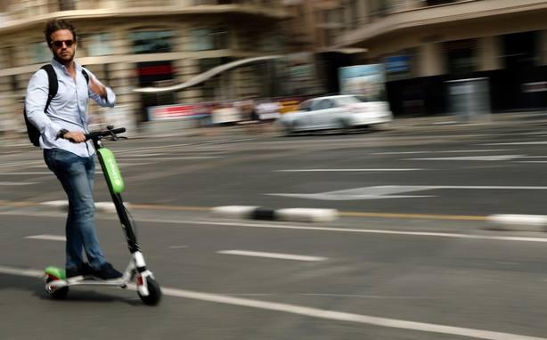 8.600 patinetes eléctricos en Madrid