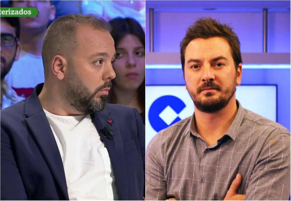 El choque entre Jorge Bustos y Antonio Maestre a cuenta de un mensaje sobre Vox