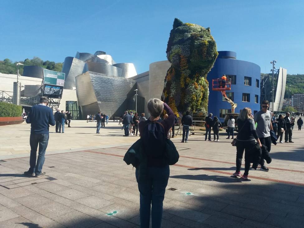 El Museo Guggenheim Bilbao recibe 29.639 visitantes en Semana Santa, un 6% más que en 2018