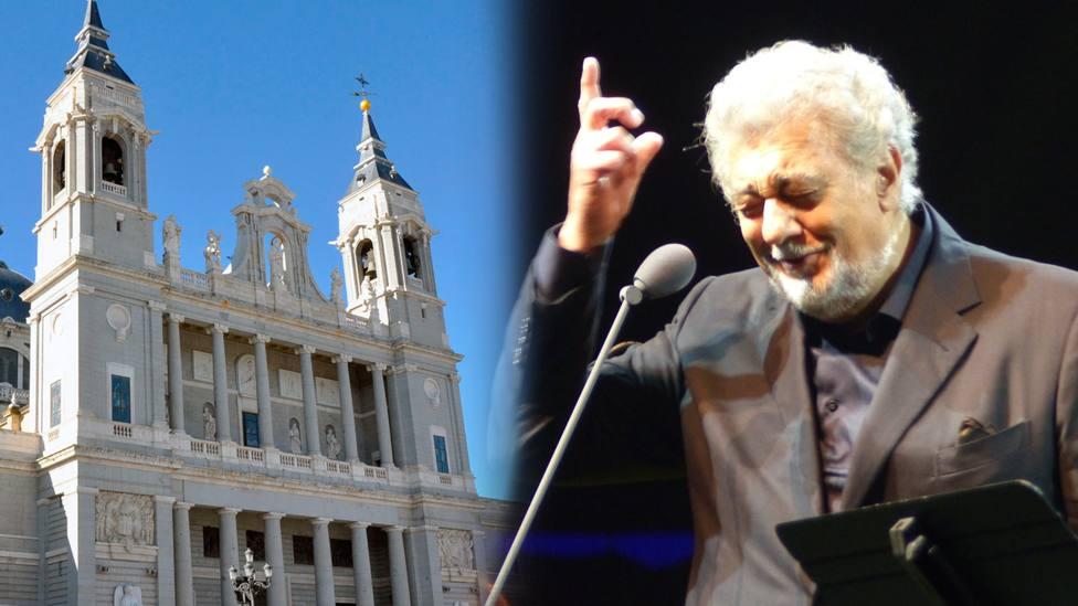 Plácido Domingo ofrece un concierto gratuito en La Almudena con motivo del Año Jubilar mariano