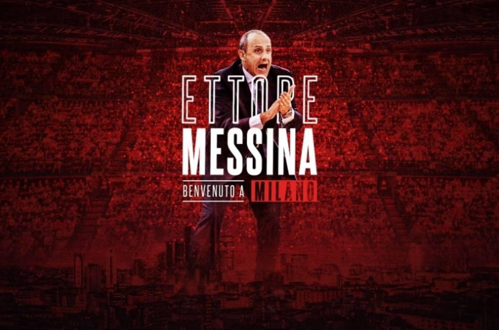 Ettore Messina, nuevo entrenador del Armani Exchange Olimpia Milan