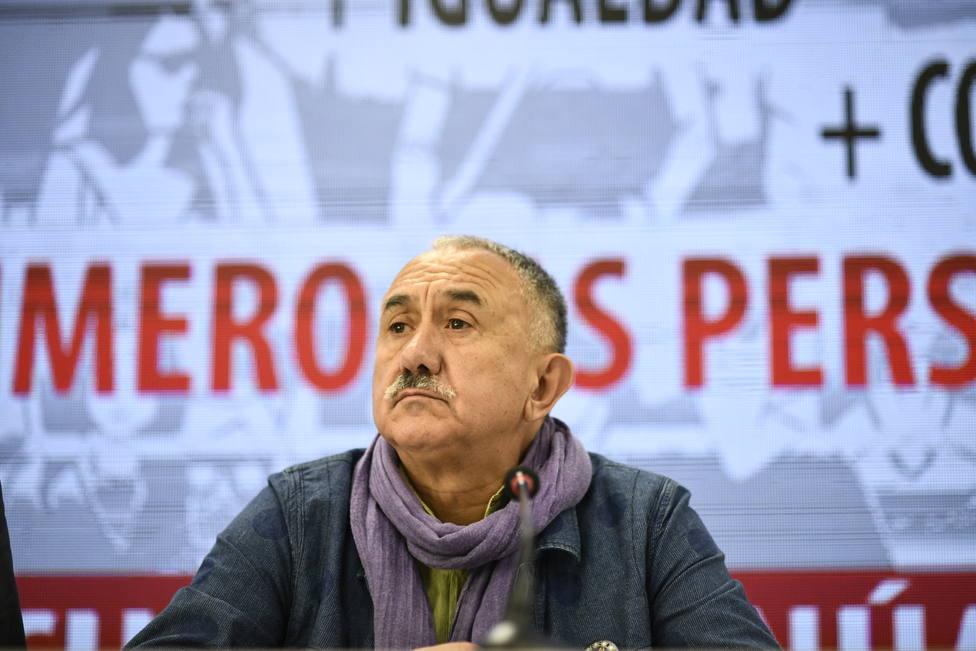 Álvarez (UGT) pide a PSOE y Podemos que se entiendan para evitar la repetición de elecciones