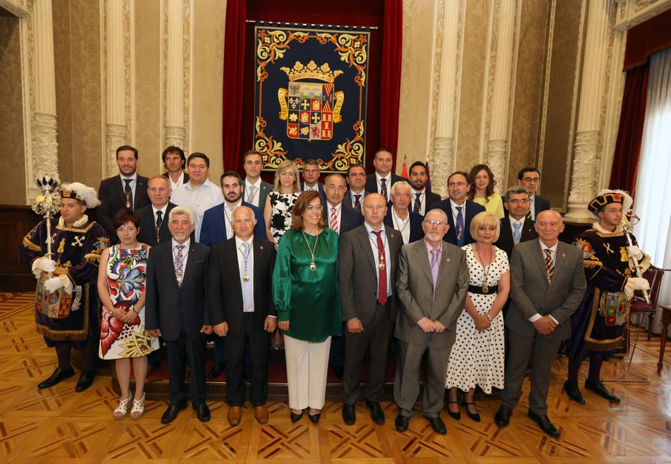 La corporación provincial de la Diputación de Palencia
