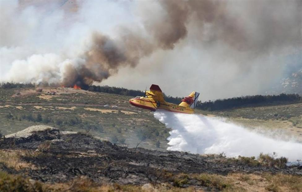 El incendio que acabó con 400 hectáreas en La Granja fue intencionado