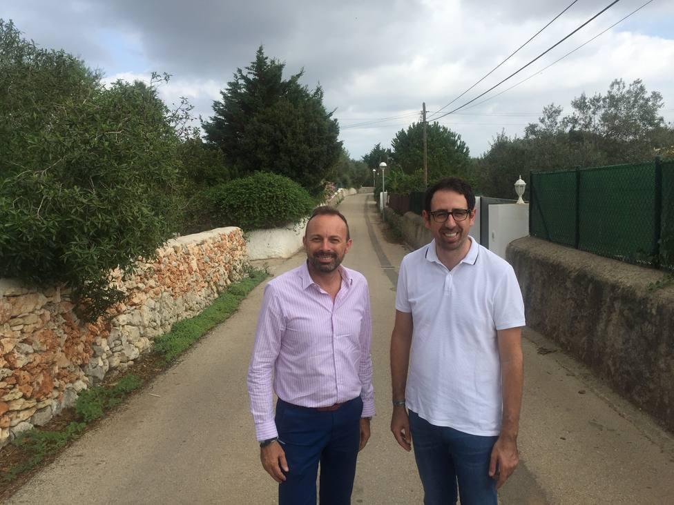 Alaior saca a licitación la fase 2 del proyecto de red de saneamiento de la urbanización Argentina
