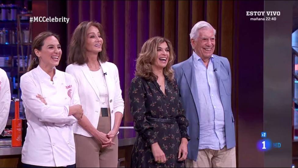 Tamara Falcó gana MasterChef con Vargas Llosa como invitado de honor