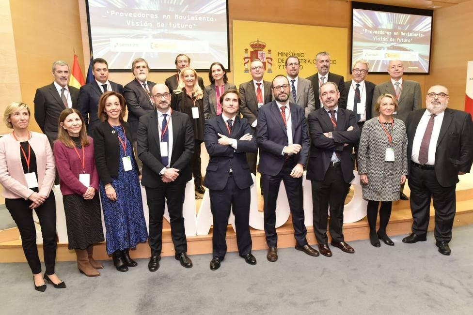 Maroto asegura que España tiene que tener un papel protagonista en la Alianza Europea de las Baterías