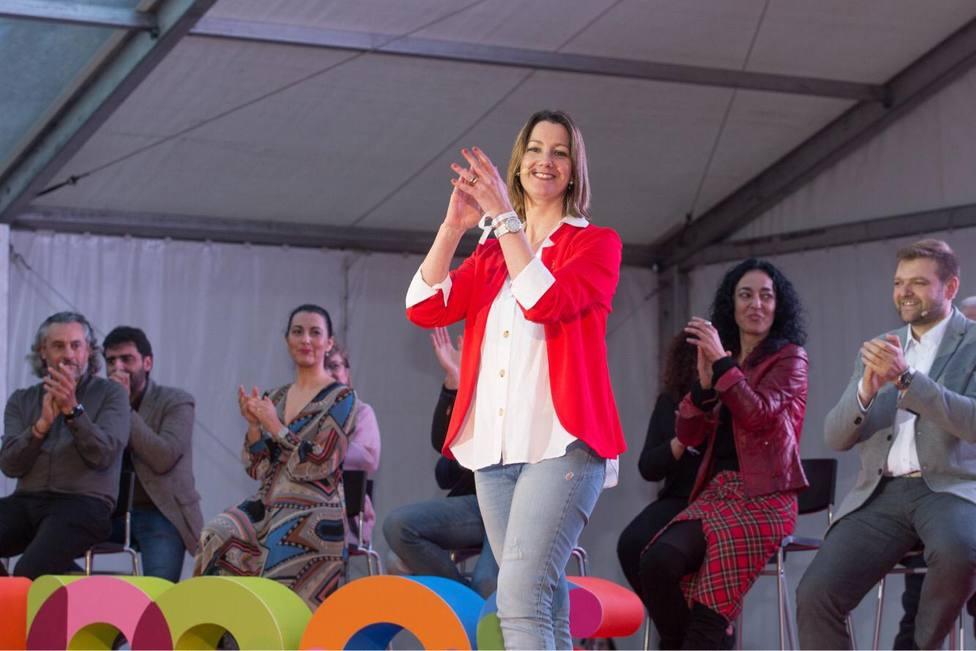 """Lara Méndez afirma que las autonómicas son """"una oportunidad"""" para """"un cambio de ciclo"""""""