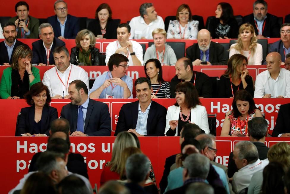 El PSOE busca en su Comité Federal la imagen de unidad ante las negociaciones con los separatistas