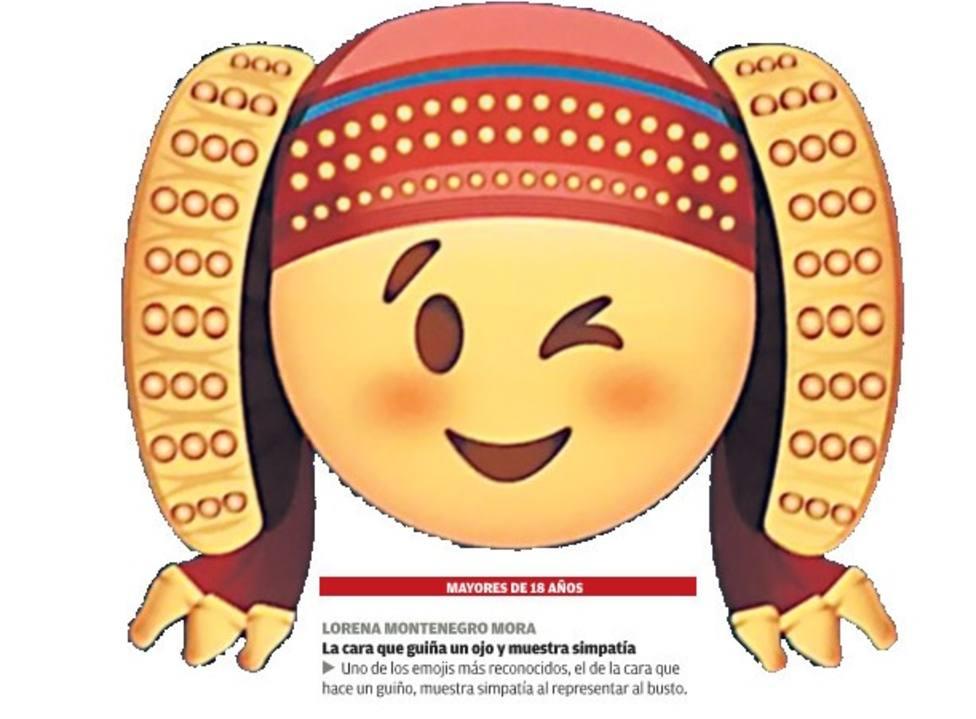 Emoji de la Dama de Elche