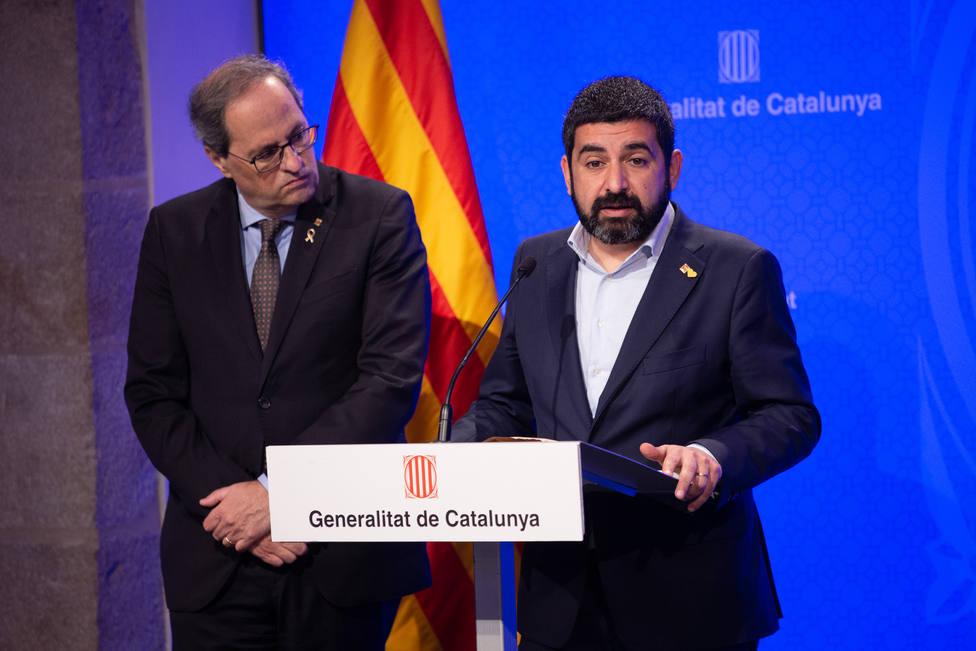 Consejero catalán de Trabajo da positivo en Covid-19