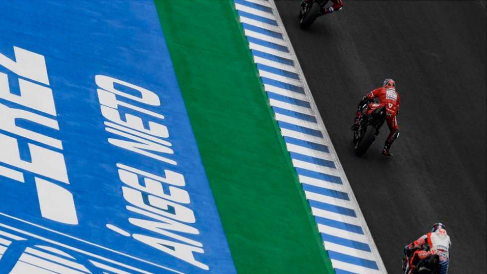 Imagen del Gran Premio de España de motociclismo (@motogp)