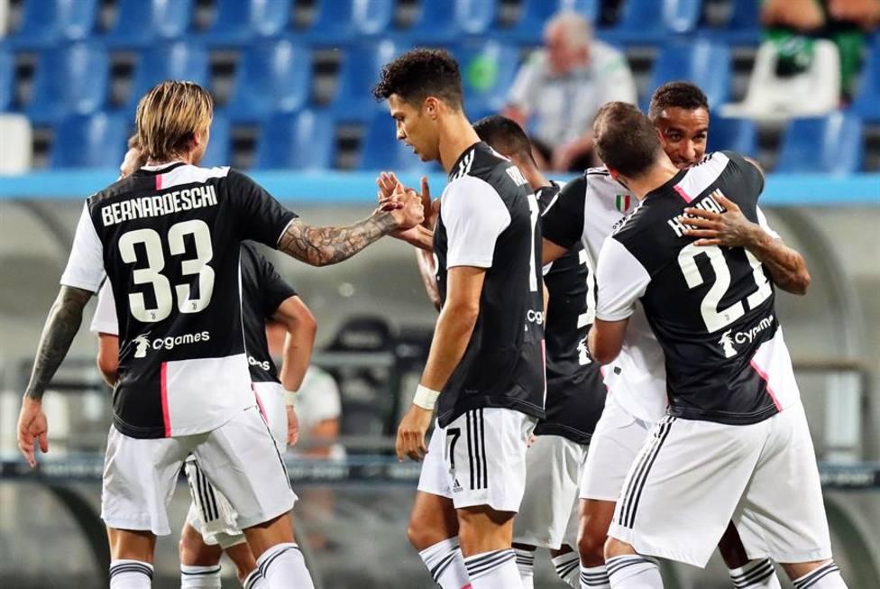 La Juventus salva un empate ante el Sassuolo
