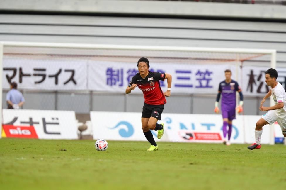 Partidos de J1 League del Nagoya Grampus, afectado con tres casos positivos de coronavirus