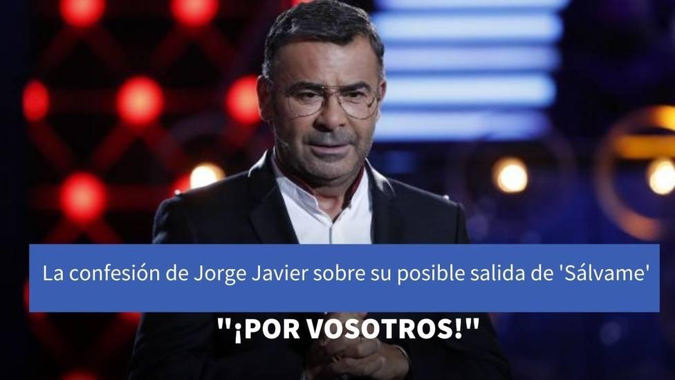 Jorge Javier Vázquez habla alto y claro sobre los motivos por los qu ha pensado irse de Sálvame alguna vez