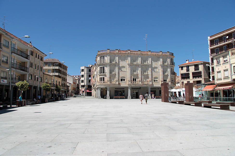 Plaza Mayor de Guijuelo