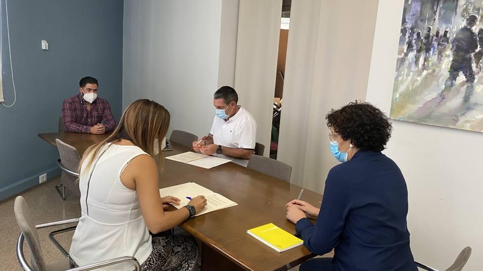 Ayuntamiento y Club de Tenis Puerto Lumbreras renuevan el convenio de colaboración
