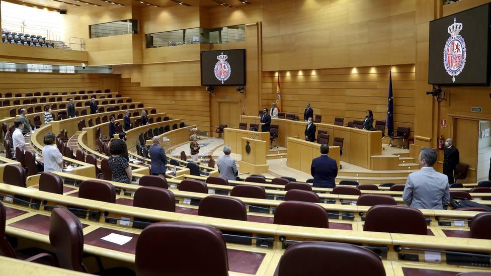 El Senado insta a desbloquear Consejo General del Poder Judicial y del Tribunal Constitucional