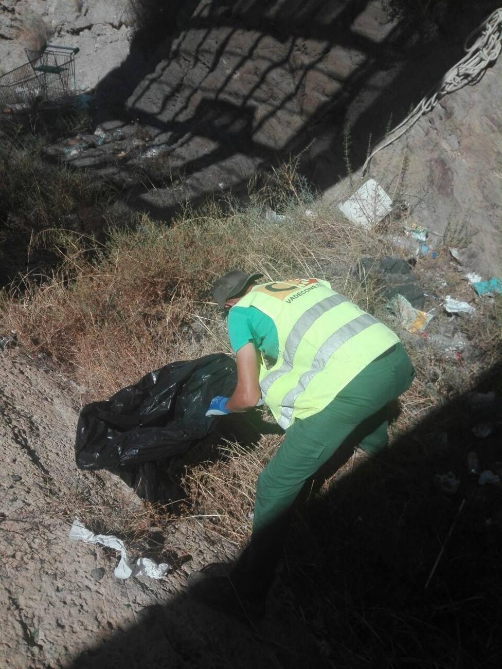 Concluyen los trabajos de limpieza de la Vía Verde del Embarcadero del Hornillo