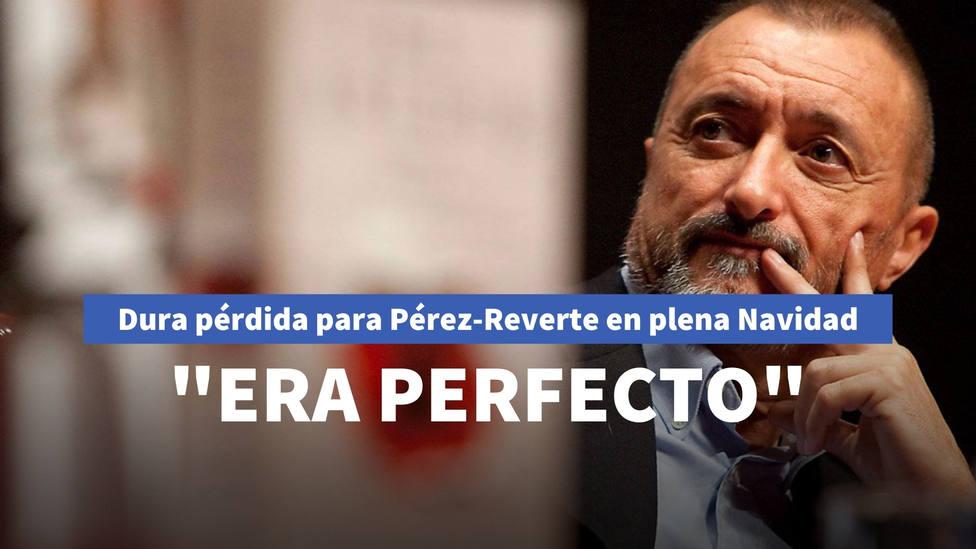 Dura pérdida para Arturo Pérez-Reverte en plena Navidad: Era perfecto