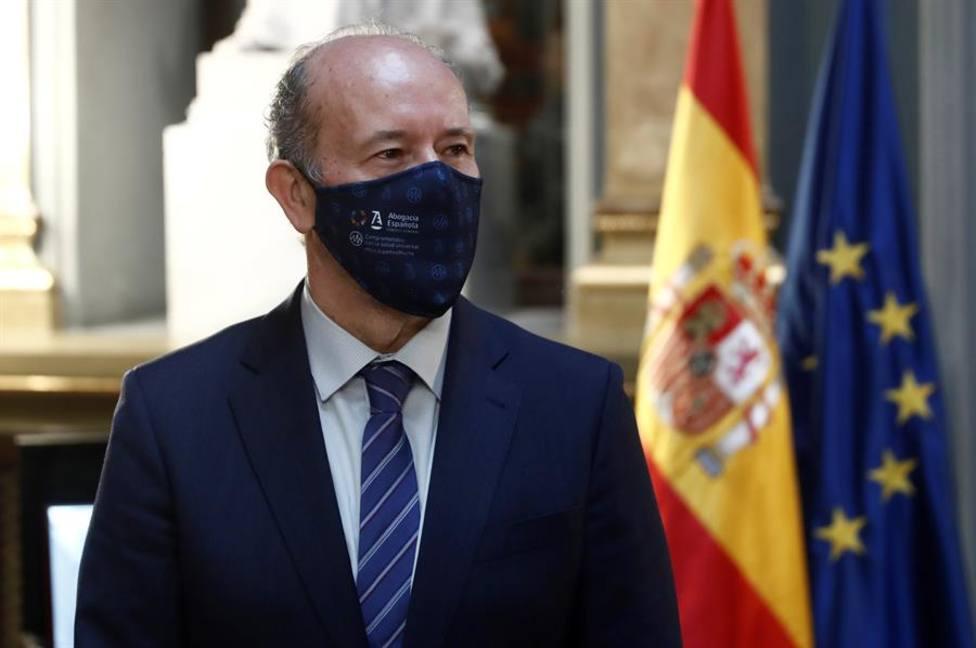 El ministro de Justicia Juan Carlos Campo