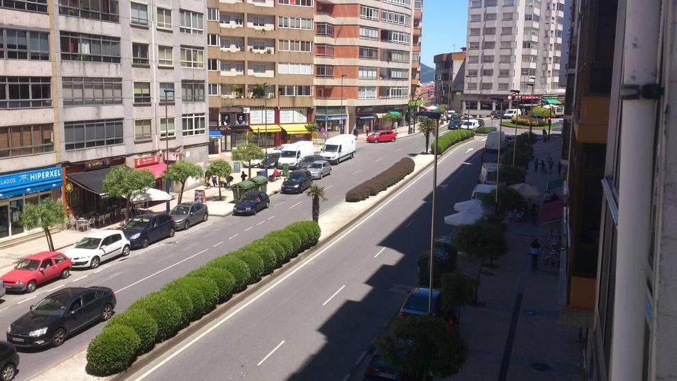 Pelea en Travesía de Vigo