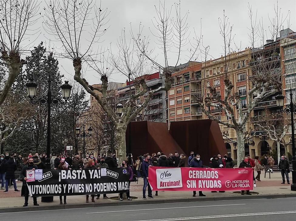 Hostelería Riojana y otros sectores también cerrados en La Rioja piden que se les deje trabajar ya