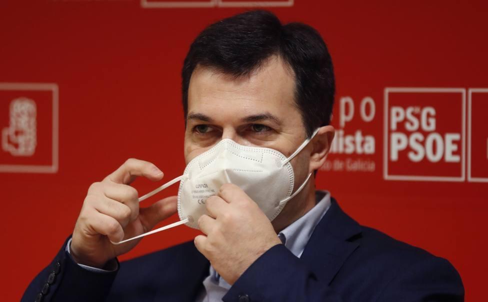 Gonzalo Caballero, secretario general del PSdeG-PSOE