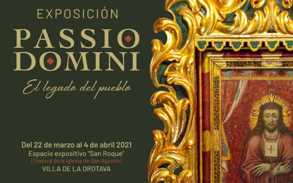 Passio Domini, exposición de Semana Santa 2021 en La Orotava