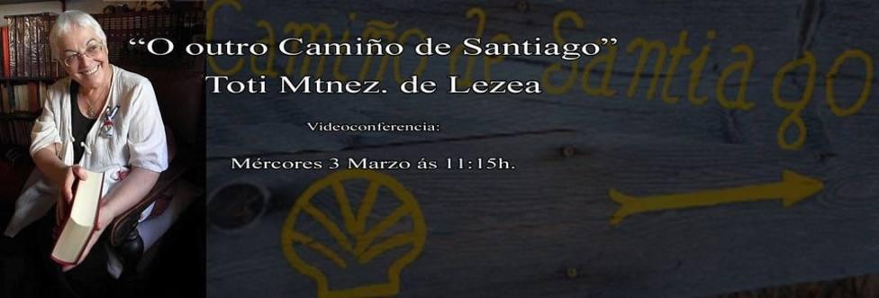 Cartel anunciador de la video conferencia de Toti Martínez