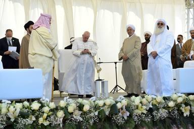Esta es la oración que el Papa Francisco rezó en su paso por Ur, la tierra de Abraham