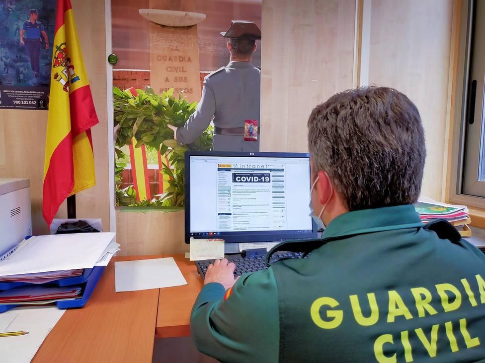 Guardia Civil estafa