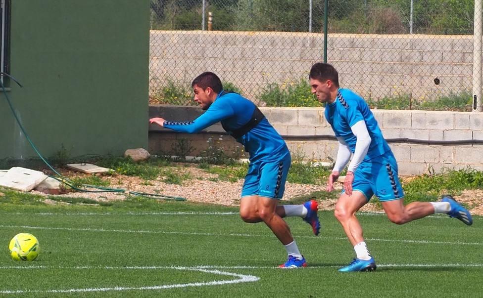 El CD Castellón trabaja para llegar a tope a la finalísima ante el Logroñés
