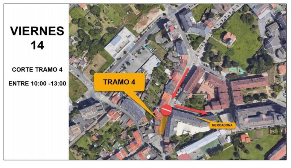 La actuación afecta a la calle Alegre y aledañas - FOTO: Concello de Ferrol