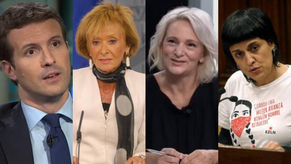 Los cambios de look políticos que precedieron al corte de la coleta de Iglesias