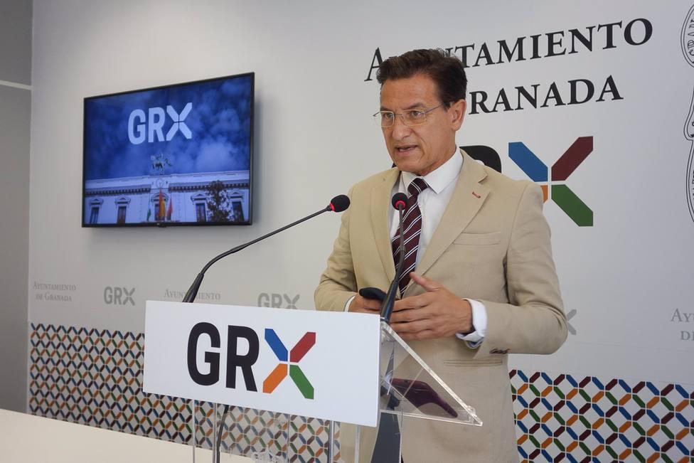 Granada.- Salvador recaba apoyo de la dirección de Cs tras informar sobre la situación municipal y lo trasladará al PP