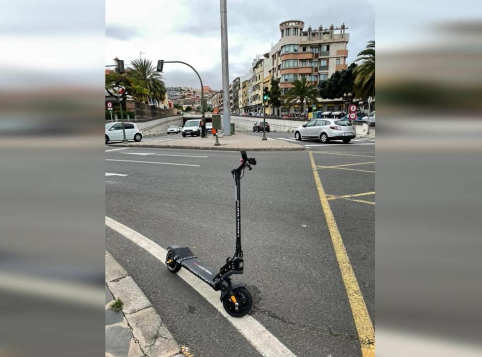 Multado por conducir bebido un patinete en Las Palmas de Gran Canaria