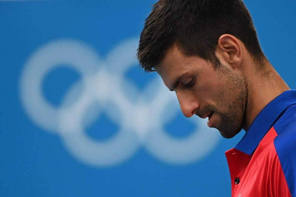 Djokovic tras perder contra Zverev