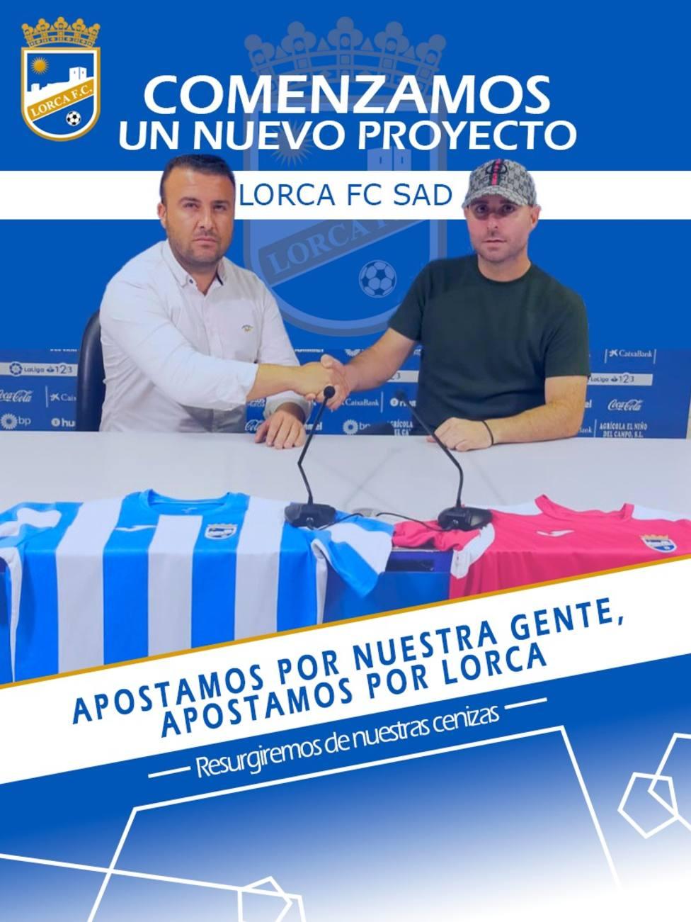 El Lorca FC hace oficial la llegada de Paco Montesinos