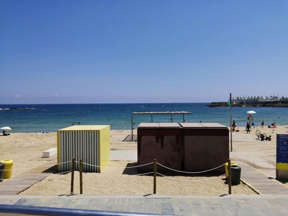 Buscan a una mujer desaparecida en la playa Nova Icària de Barcelona