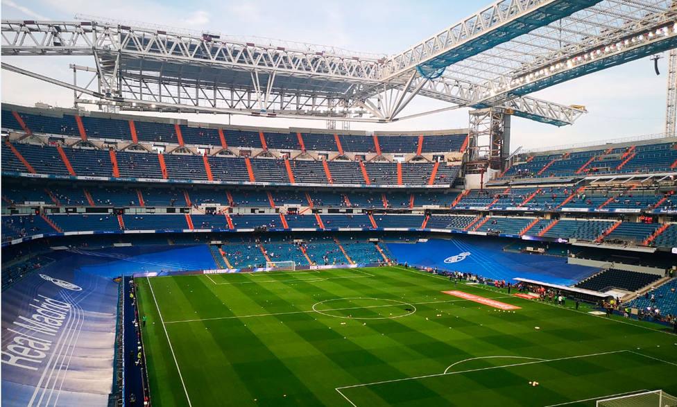 El Real Madrid vuelve al nuevo Santiago Bernabéu, todavía en obras