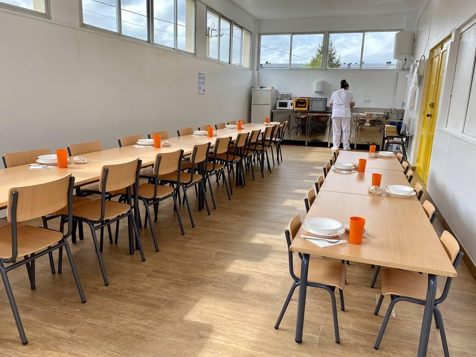 Las instalaciones del colegio de San Isidro son muy recientes - FOTO: Concello de Neda