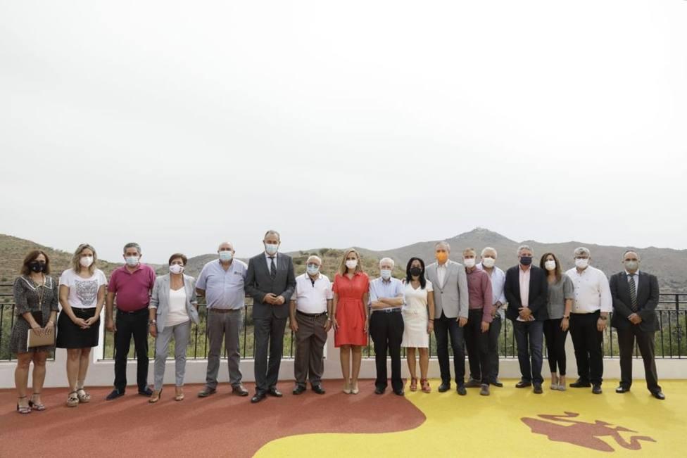 La Junta celebra la Comisión de coordinación en Benitagla, el pueblo más pequeño de la provincia