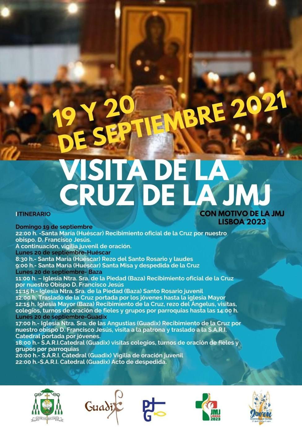 Itinerario Cruz JMJ Huescar Baza
