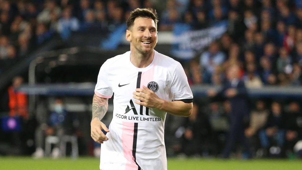 Leo Messi, con la camiseta del PSG. CORDONPRESS