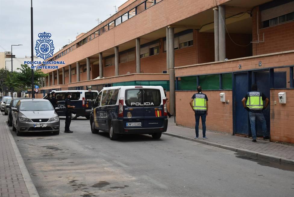 Policía Nacional detiene a 6 integrantes de un clan dedicado al narcotráfico en el Barrio San Diego de Lorca