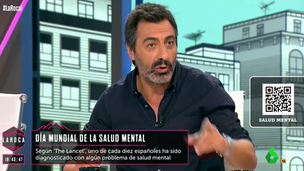 Juan del Val estalla en La Roca y responde a todos los que cuestionan su matrimonio: Amargados