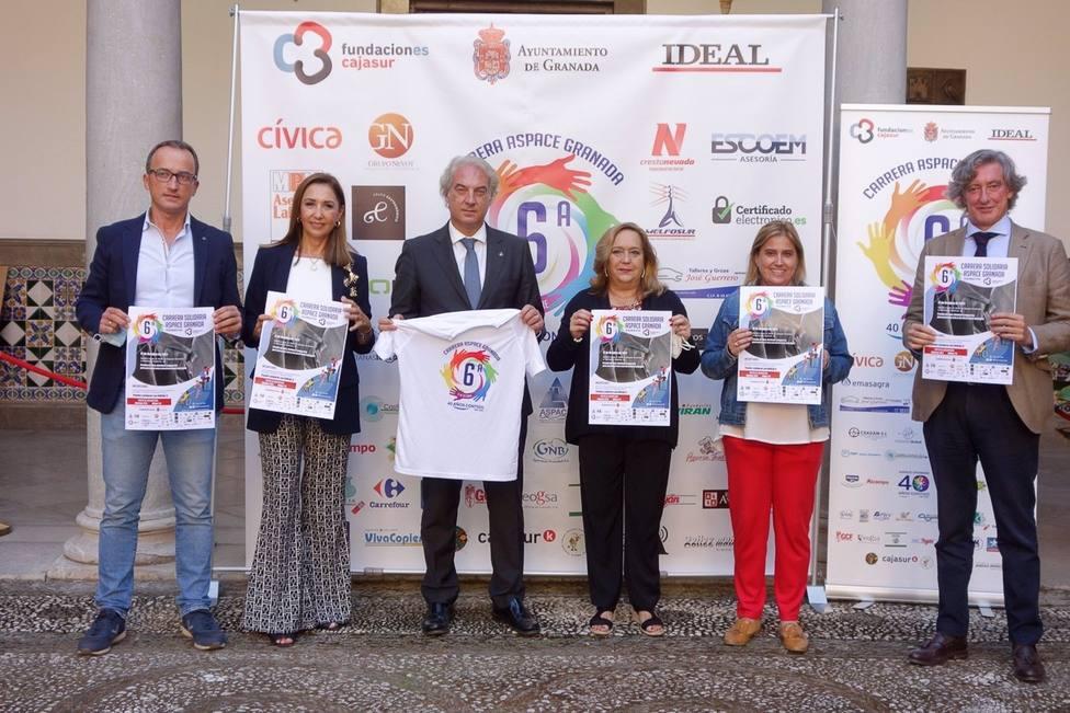 Granada.- Aspace promueve una carrera para mejorar la vida de las personas