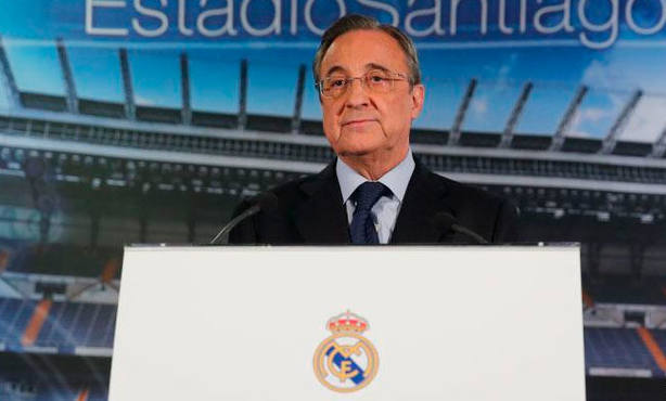 Florentino Pérez, presidente del Real Madrid (FOTO: Real Madrid)